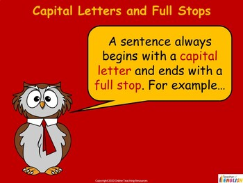 Capital Letters Teaching PowerPoint