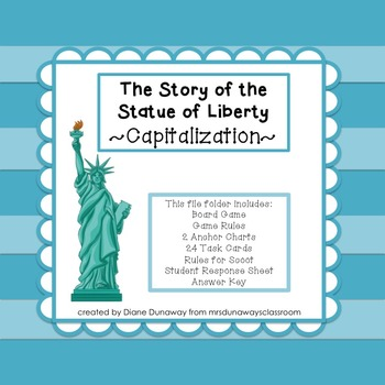 Capital Letters:  The Story of the Statue of Liberty