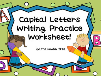 Capital Letters Writing Practice