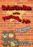 Capital Letters and Full Stops - Punctuation Pals -No prep