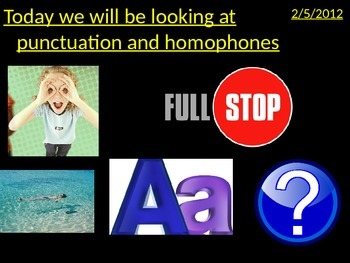 Capital Letters and Homophones