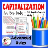 Capital Letters for Big Kids - Advanced Rules