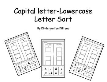 Capital Letters versus Lowercase Letter Sorts