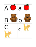 Capital Lowercase Letter Match