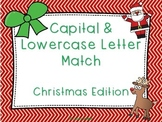 Capital & Lowercase Letter Match Christmas Edition