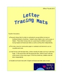 Capital & Lowercase Letter Tracing & Writing Mats