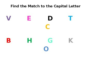 Capital/Lowercase Match