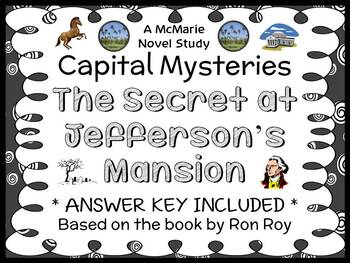Capital Mysteries #11: The Secret at Jefferson's Mansion (Ron Roy) Novel Study