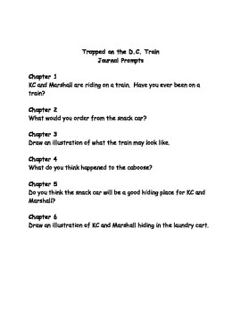 Capital Mysteries #13 Trapped on the DC Train comprehension questions