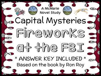 Capital Mysteries #6: Fireworks at the FBI (Ron Roy) Novel