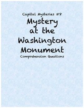 Capital Mysteries #8 Mystery at the Washington Monument