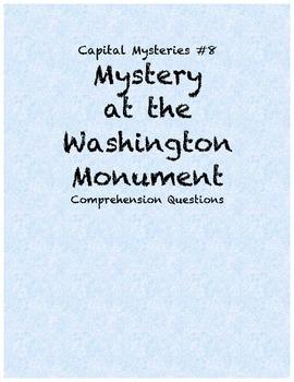 Capital Mysteries #8 Mystery at the Washington Monument