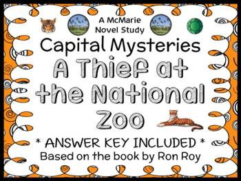 Capital Mysteries #9: A Thief at the National Zoo (Ron Roy) Novel Study