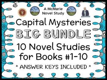 Capital Mysteries BIG BUNDLE (Ron Roy) 10 Novel Studies : Books #1-10  (264 pgs)