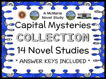 Capital Mysteries COLLECTION (Ron Roy) ALL 14 Novel Studies (366 pages)