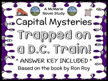 Capital Mysteries: Trapped on the D.C. Train! (Roy) Novel Study / Comprehension