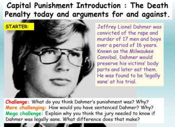 Capital Punishment / The Death Penalty