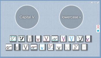 Capital V vs. Lowercase v sort