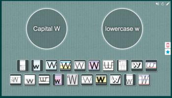 Capital W vs. Lowercase w sort