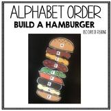 Alphabet Order Activity for Kindergarten or Preschool