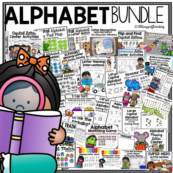 Alphabet Games and Activities for Capital and Lowercase Letters