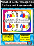 Alphabet Letter Recognition Centers and Assessments