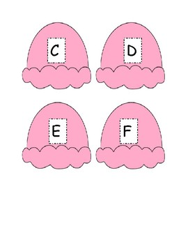 Capital and Lowercase Letter Match Game