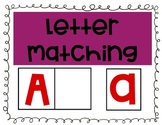 Capital and Lowercase Letter Matching - Picture and Letter matching