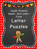 Capital and Lowercase Letter Puzzles (Apple-Themed)