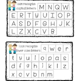Capital and Lowercase Letter Recognition
