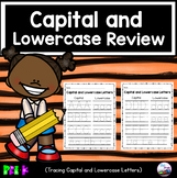 Capital and Lowercase Letter Review