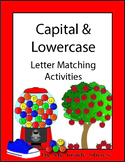 Capital and Lowercase Letters Matching