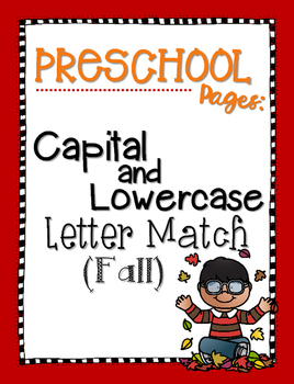 Capital and Lowercase Letter Match {Fall}