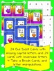Capital and Lowercase Letters Owl Scoot Game Bundle