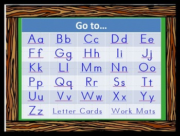 Capital and Lowercase Letters and Sounds