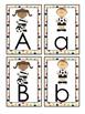 Alphabet Flash Cards Soccer Theme