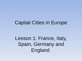 Capital cities in Eurpoe