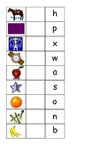 Capital letter bingo game