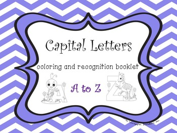 Capital letter recognition and coloring