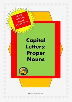 Capital letters: Pronouns