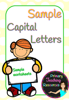 Capital letters sample