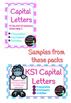 Capital letters sample