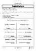 Capital letters worksheet - British English by Enlite Hub