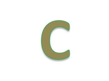 Capital/Big Letter Flashcards