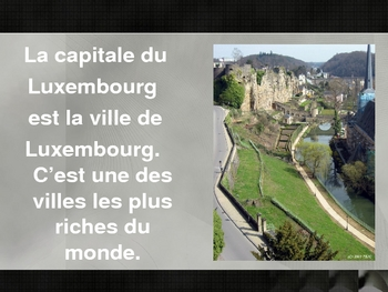 Capitales francophones (French-speaking capitals)