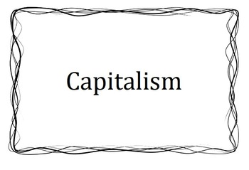 Capitalism or Communism?  The Start of the Cold War