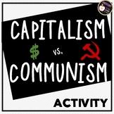 Capitalism vs Communism Chart Comparison Activity