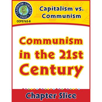 Capitalism Vs Communism Communism In The 21st Century Gr 5 8 Tpt