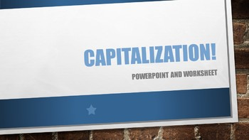Capitalization!