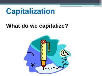 Capitalization Power Point